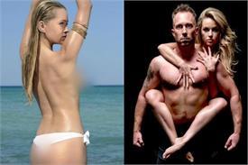 एक्ट्रैस ने पहले ब्रा उतार दिखाई बेशर्मी फिर पति के साथ खिंचवाई अश्लील तस्वीरें
