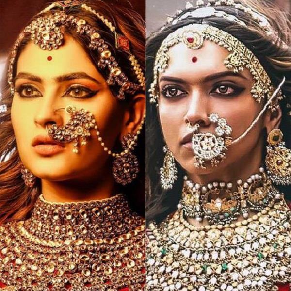ragini mms returns karishma sharma padmaavat look