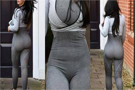 हसीना ने पहने इतने टाइट कपड़े कि प्राइवेट पार्टस की साफ नजर आई SHAPE