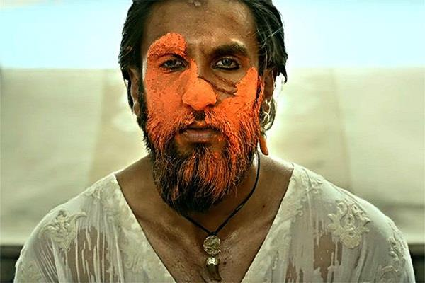 leaked dialogue video of ranveer from his upcoming padmaavat
