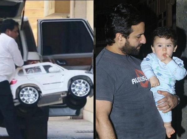 saif ali khan bought new suv car for little taimur