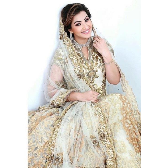 shilpa shinde bridal look for wedding affair magzine