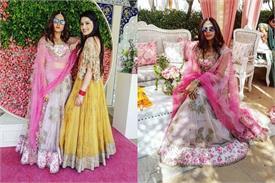 दोस्त की शादी में स्वैगी अंदाज में नजर आई सरगुन, तस्वीरें ढा रही हैं कहर