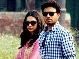 दीपिका पादुकोण और इरफान खान की अगली फिल्म टली