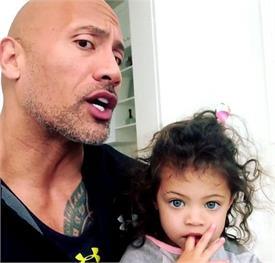 ड्वेन जॉनसन ने बेटी जैसमीन को सिखाई 'गर्ल पावर', सोशल साइट पर शेयर किया वीडियो