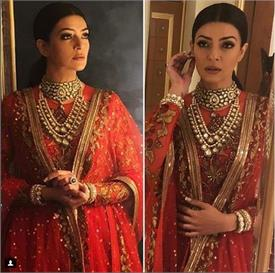 sushmita sen turns beautiful bride at ravishing wedding awards india 2018