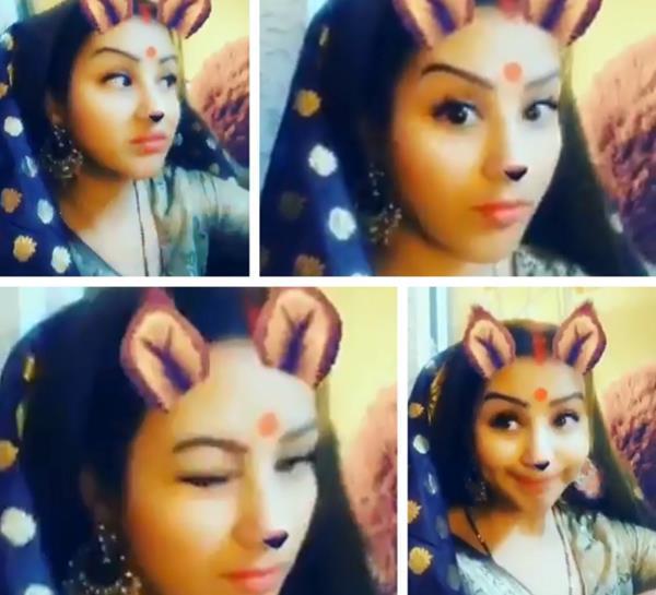 shilpa shinde shares a video