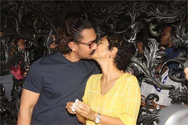 aamir khan kiss birthday