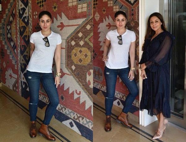 kareena kapoor visits gauri khan store
