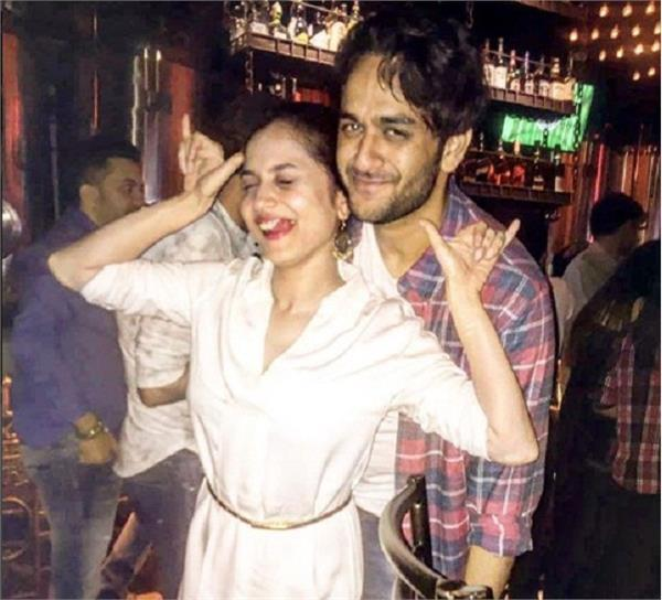 vikas gupta parties with ankita lokhande