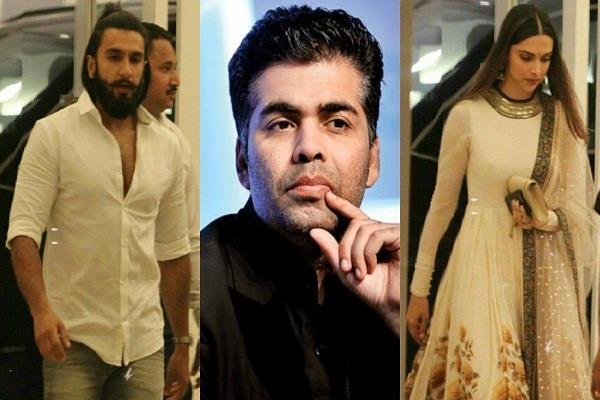 karan johar big statement about deepika ranveer relationship