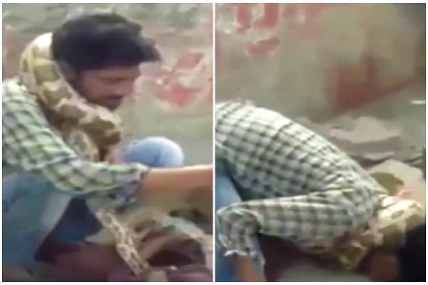 mau snake charmer python wraps neck