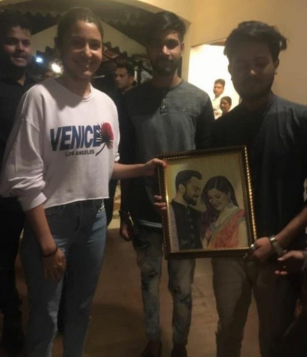 anushka sharma virishka fan gift bhopal