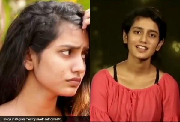 priya prakash varrier latest video viral