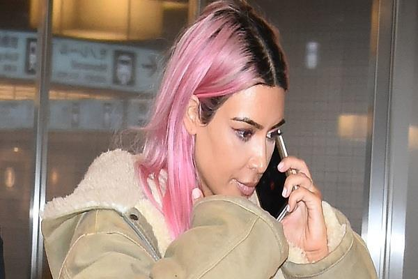 kim k is so over blonde and it s going to new makeover