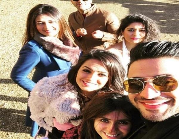 ye hai mohabbatein starcast having fun on the london