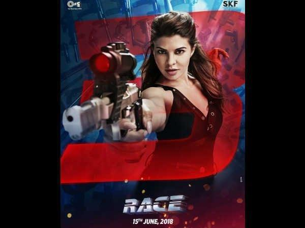 first look jacqueline fernandez first look released race 3