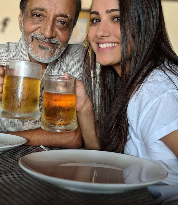 birthday girl anita hassanandani chills out with father in law