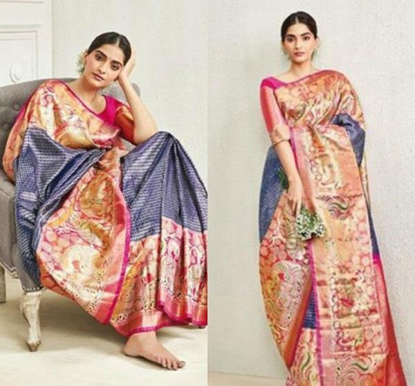 sonam kapoor traditional photoshoot