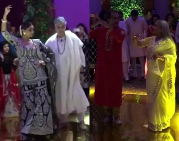 jaya bachchan and sonam kapoor dance video viral