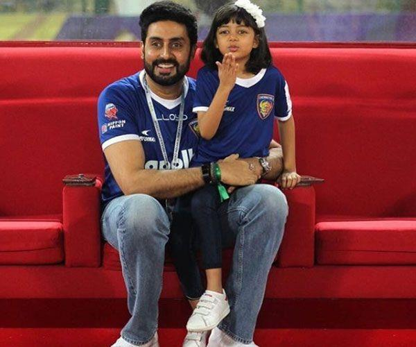 daughter aaradhya note for papa abhishek bachchan