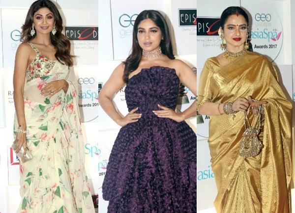 celebs at asia spa awards 2018