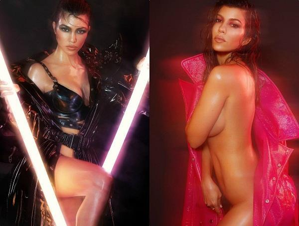 kourtney kardashian bold photoshoot