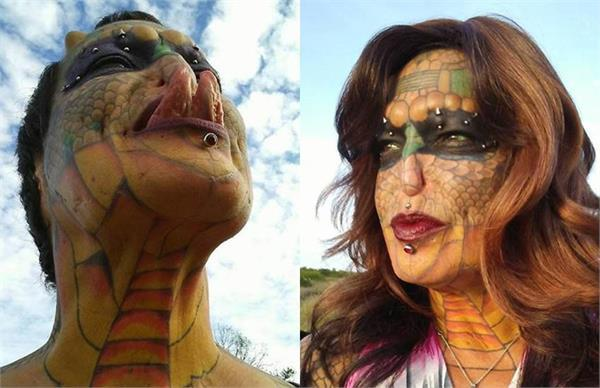 dragon lady made by human beings by performing operation rs 39 lakhs burned