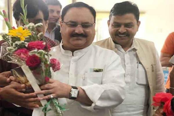 transfer on nadda front clashed two minister