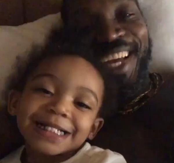 video  chris gayle wish daughter blush his 2nd birthday