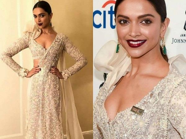 deepika padukone at time 100 gala in new york