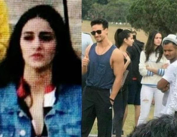 ananya pandey on locaton pictures