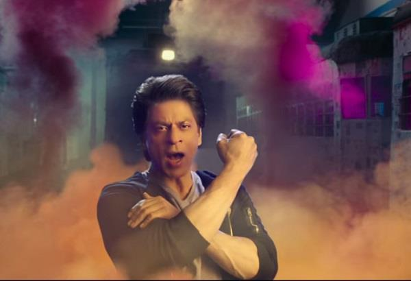 kkr shah rukh khan purple fever watch video