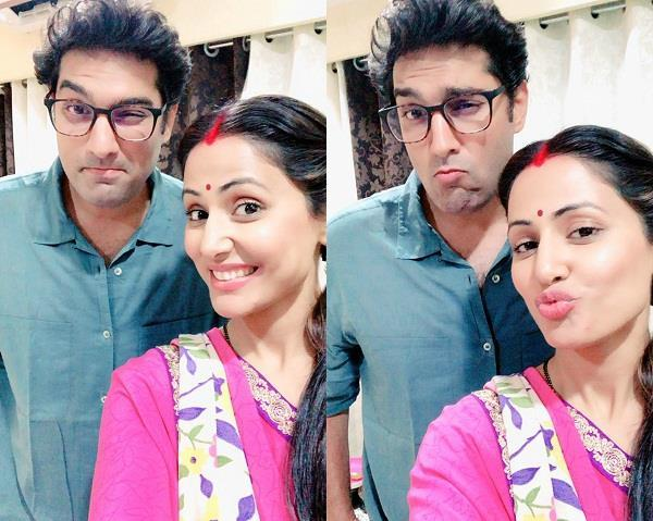 hina khan share picture with kunal roy kapoor on social media