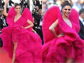 Cannes रेड कार्पेट पर उतरी दीपिका ने की बोल्डनेस की सारी हदें पार, खूबसूरती देख हो जाएंगे कायल