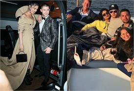 अमेरिकी पॉप सिंगर के साथ कंबल में दिखीं प्रियंका चोपड़ा, वायरल हो रही है तस्वीर