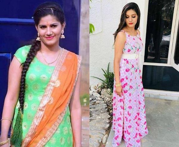 haryanvi dancer sapna choudhary glamorous look