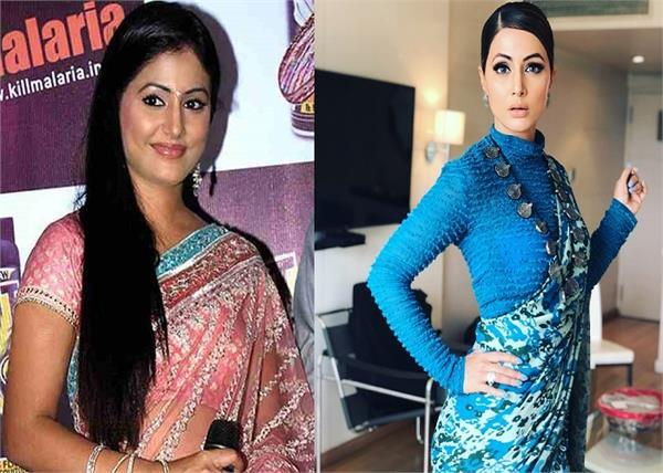 hina khan of glamorous transformation