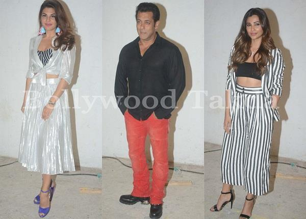 race 3 promotion salman khan with star cast at mumbai