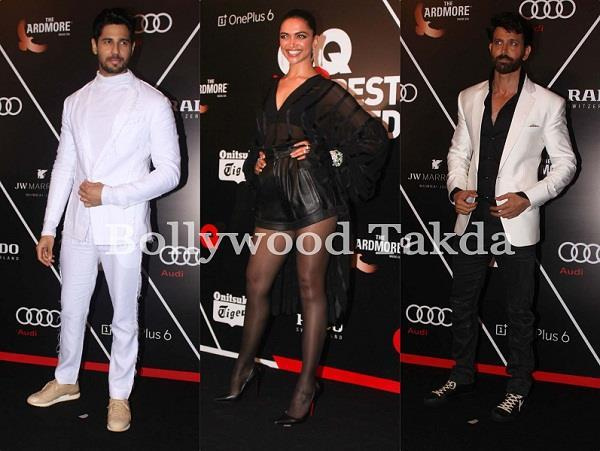 bollywood stars at gq 100 best dressed awards