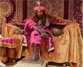 ravi dubey looks alauddin khilji for his new show