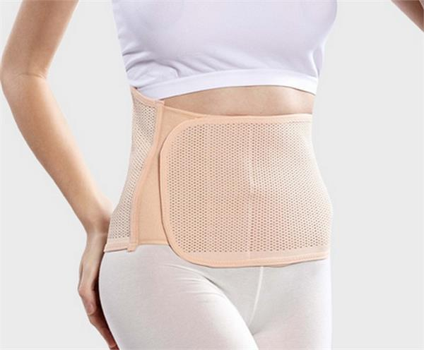 it is necessary to wear abdominal belt after the cesarean delivery