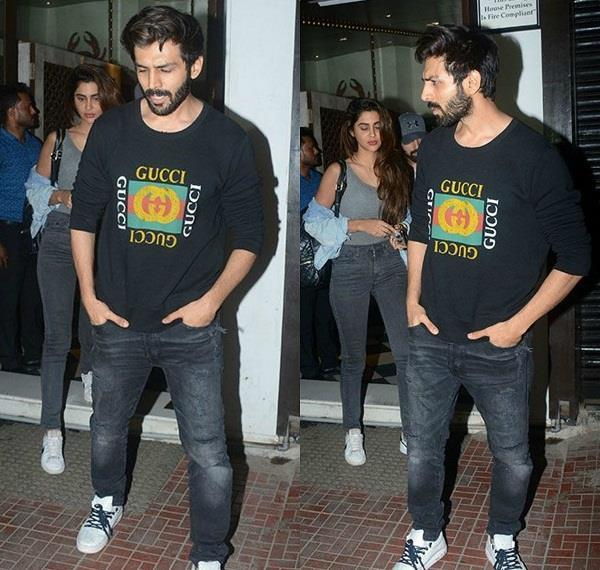 kartik aaryan spooted with his rumoured girlfriend dimple sharma
