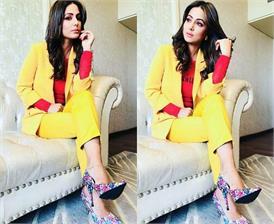 हिना खान का जबरदस्त अंदाज आया सामने, पहले नहीं देखा होगा एेसा स्टाइलिश लुक