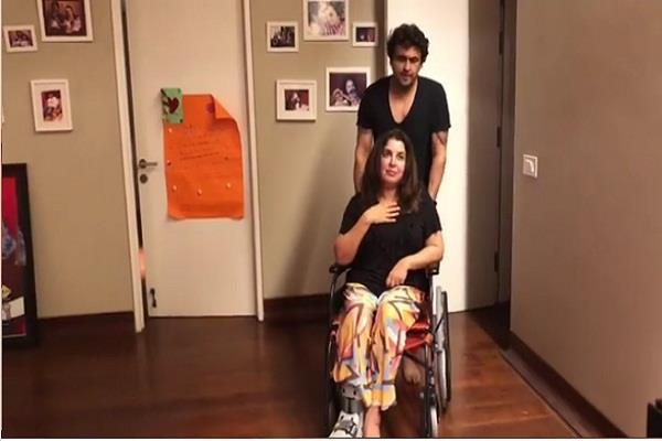 farah khan video with sonu nigam