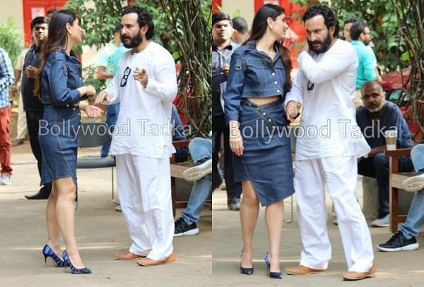saif ali khan to meet kareena kapoor at mehboob studio