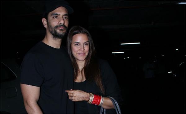 neha dhupia pregnant at the time of marriage