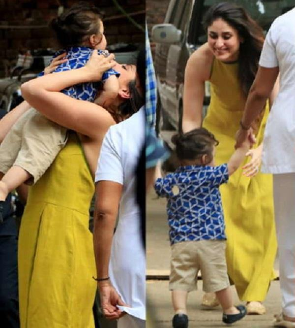 kareena kapoor spending time with taimur ali khan