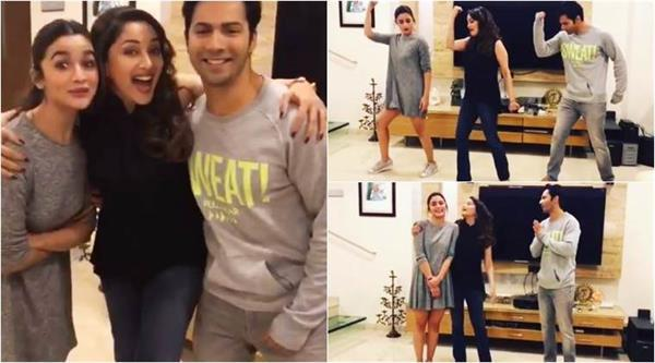 madhuri says about alia bhatt and varun