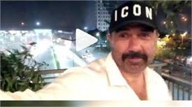 सनी देओल ने दिल्ली की तेज आंधी को किया अपने कैमरे में कैद, देखें Video